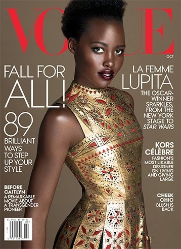 Vogue October 2015 magazine cover