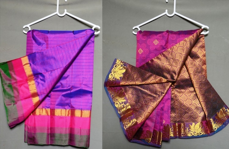 Wash silk sarees at home