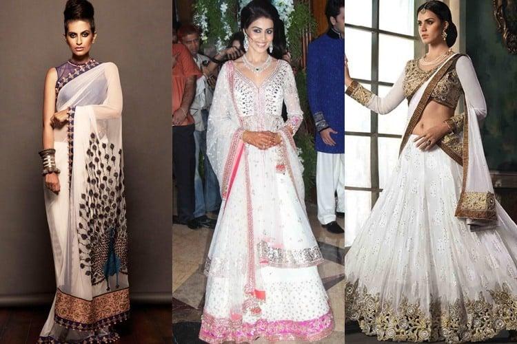 White dresses for Navratri 2021 Day 3