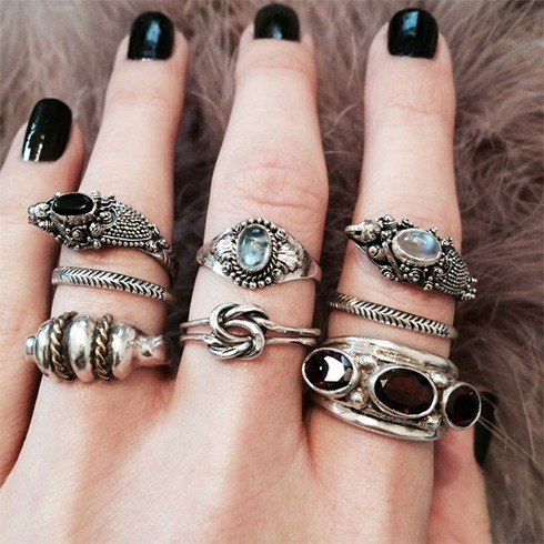 Silver Antique Ring Designs