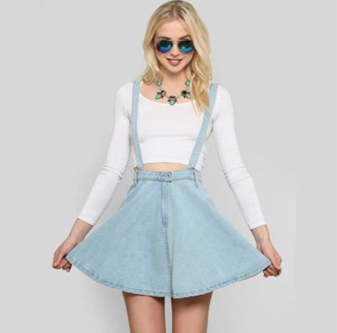 Dress With Skater Skirt