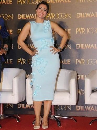 Kajol pretty Gauri and Nanika dress