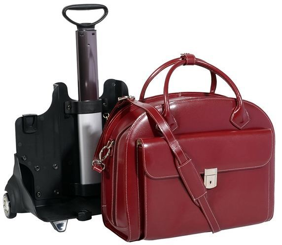 Leather Rolling Bags