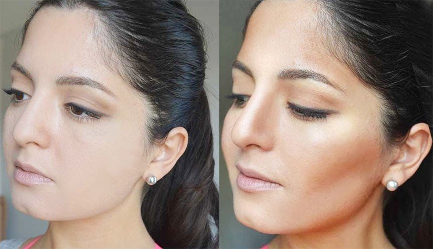 Makeup Tricks to Slim Your Face