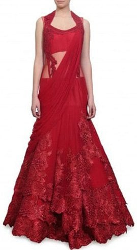 Saree gown For Girl