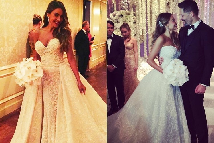 Sofia Vergara Stuns in Zuhair Murad Wedding Dress