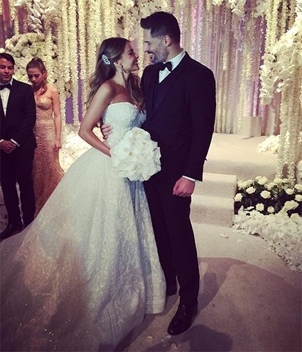 Sofia Vergara wedding dress