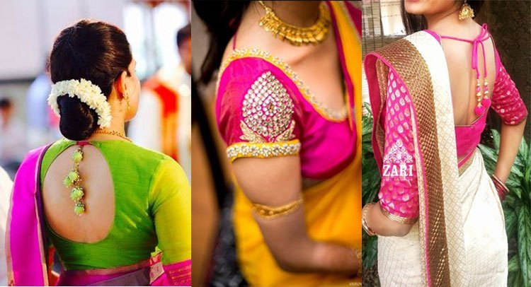 traditional-silk-saree-blouse-designs