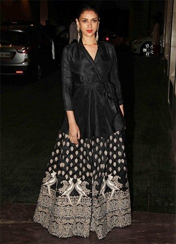 Aditi Rao Hydari at Masaba Gupta Wedding Reception
