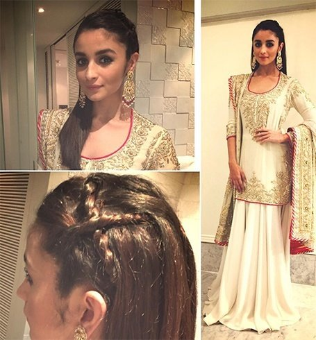 Alia Bhatt at Masaba Gupta Wedding