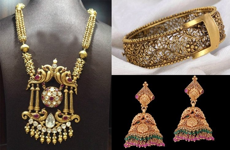 Beautiful And Breathtaking Antique Jewellery Designs