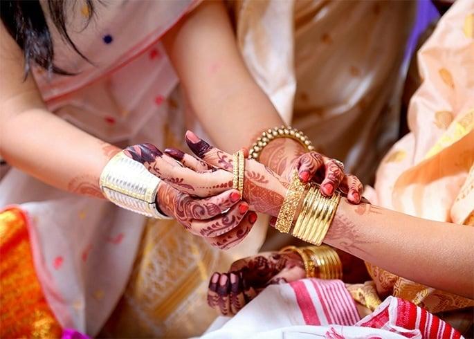Assamese hand jewellery