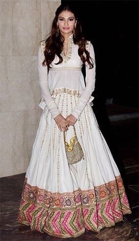 Athiya Shetty at Masaba Gupta Wedding Reception