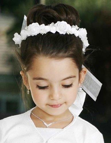 baby big flower headbands