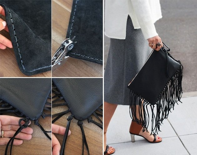 best diy leather bag tutorial