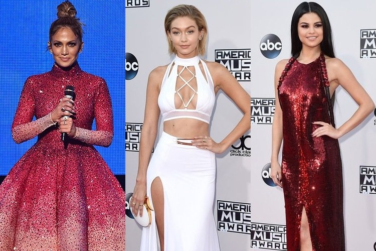 Best Dresses of AMA 2015
