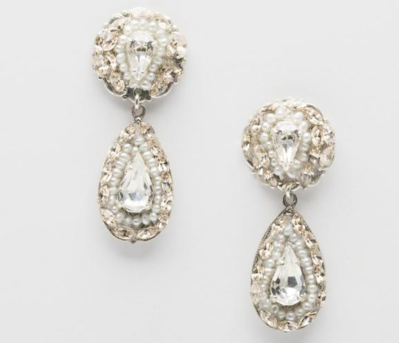 best swarovski bridal earrings
