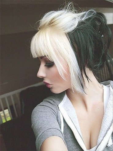 Black And White Hair Color