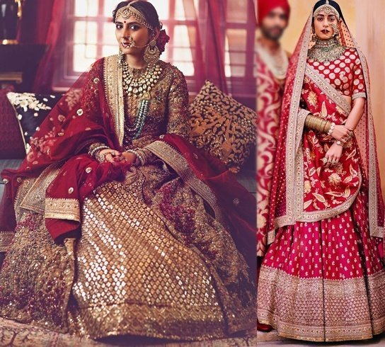 Bridal Lehenga Designs By Sabyasachi