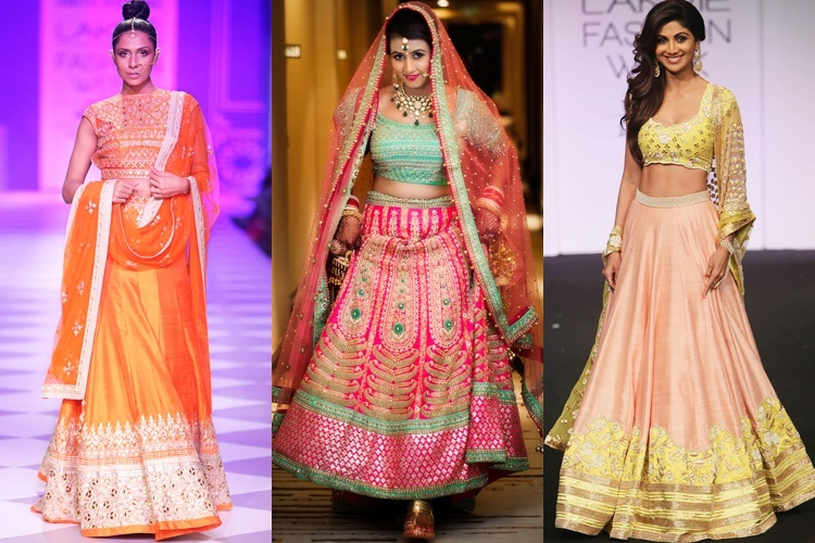 Nepali celebrity wedding gowns