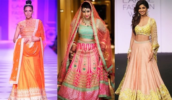 Budget Wedding Lehengas For The Pretty Brides