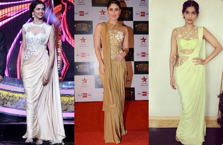 Kareena Kapoor In Saree Gown