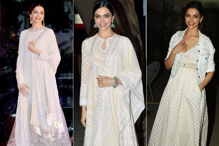 deepika padukone Off-White Outfits