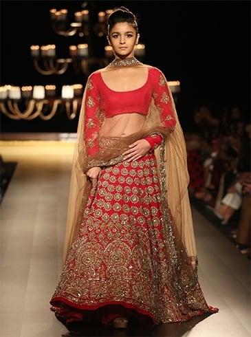 Designer Bridal Lehengas By Manish Malhotra