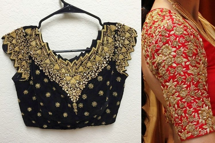 Embroidered Blouse Designs