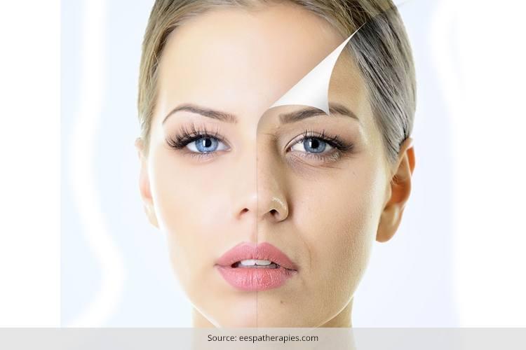 face pack for wrinkled skin