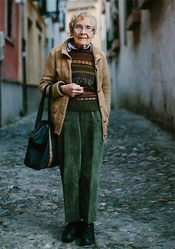 Fashion for grandmother