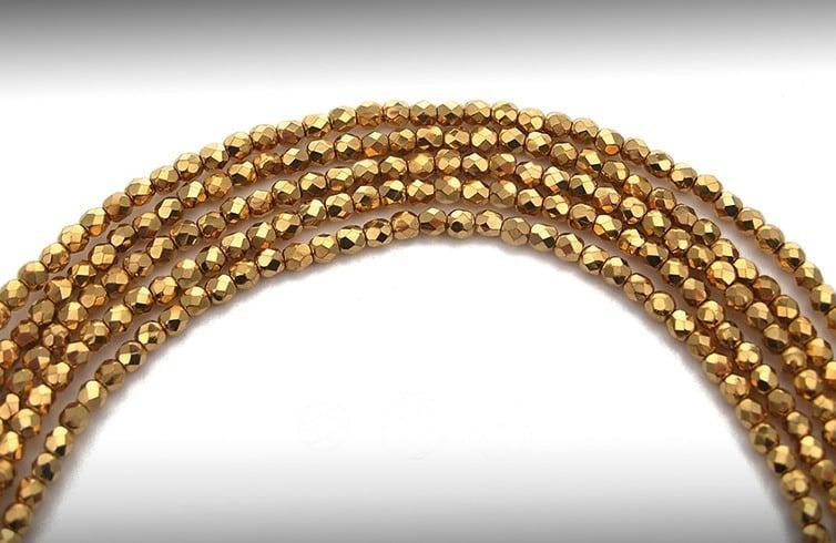 Fire-Polished Glass Beads