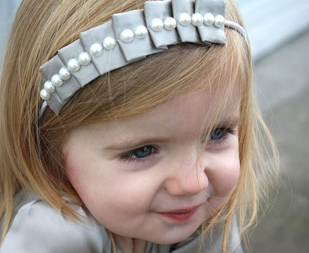 flower headband girl
