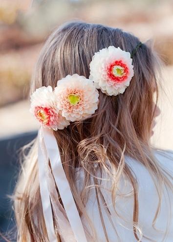 flower headband style