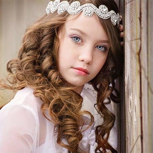 flower headbands for girls