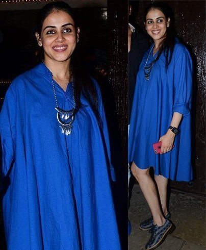 Genelia DSouza at Aaradhya Bachchan birthday bash