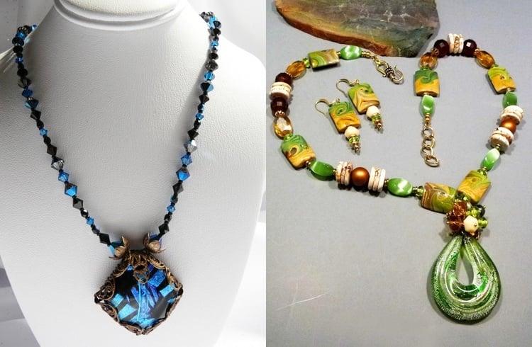 Dichroic Glass Beads