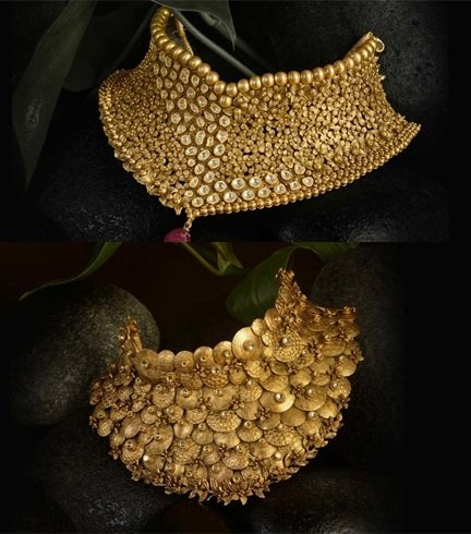 Gold Jewellery Designs For Bride