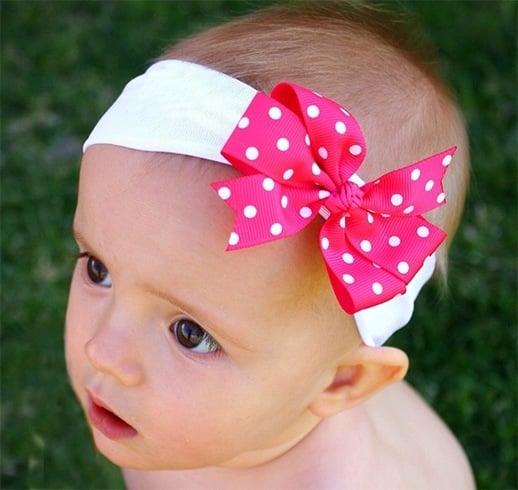 Headbands for baby girls