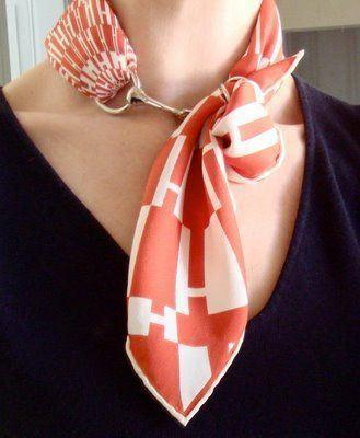Learn How To Wear Hermes Scarf