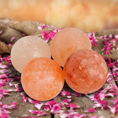 Himalayan Pink Salt Round Massage Balls