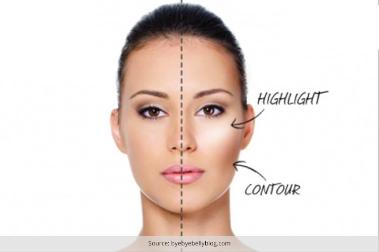 Tips On How To Make Round Face Look Thinner Makeup Can Actually - Hairstyle for round face to look slim