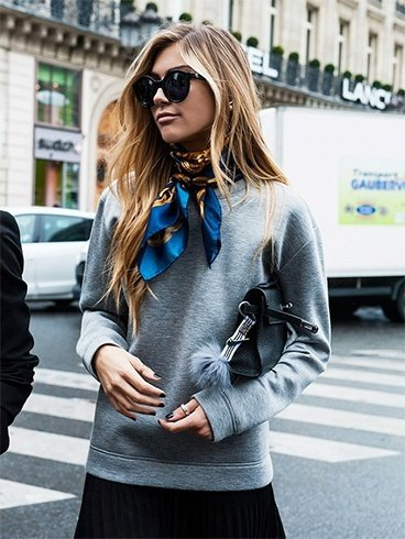 How To Wear a Hermes Scarf