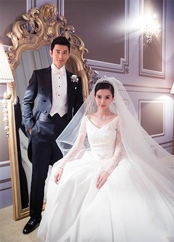 Angelababy Wedding Dress
