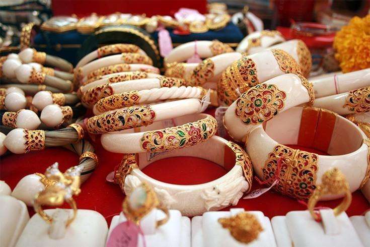 Ivory bangles