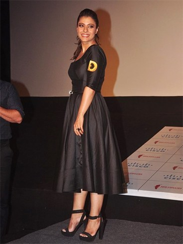 Kajol at Dilwale Trailer Launch