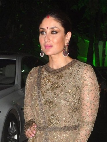 Kareena Kapoor At Shilpa Shetty Diwali Bash