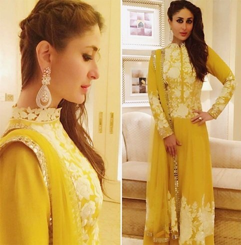 Kareena Kapoor in Manish Malhotra anarakli