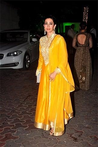 Karisma Kapoor at Shilpa Shetty Diwali party