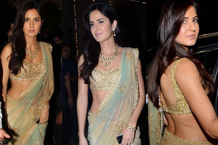 Katrina Kaif at Amitabh Bachchan Diwali party